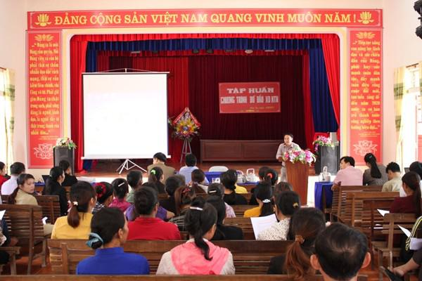 Chuyển giao tiến bộ KH&CN về xã đỡ đầu nông thôn mới - xã Đức An