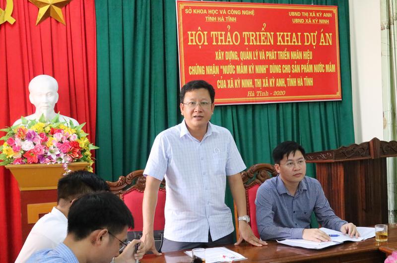 Hội thảo triển khai Dự án nước mắm Kỳ Ninh