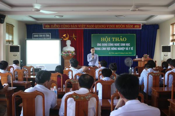 Hội thảo Ứng dụng công nghệ Sinh học trong lĩnh vực nông nghiệp và y tế